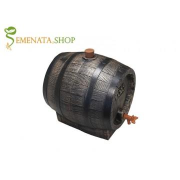 Буре за вино и ракия 10 л от пластмаса - Високо качество и трайно парафинирана вътрешност