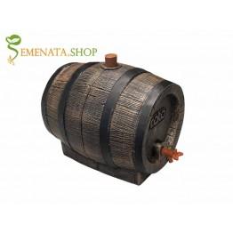 Бъчва за уиски с канелка 13 л - стилен дизайн и изключително качествена пластмаса с траен парафин