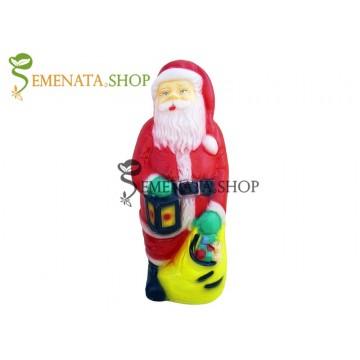 Голяма Светеща фигурка на Дядо Коледа за открито и закрито - модел L