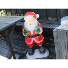 Светеща фигурка на Дядо Коледа с за на вън и на закрито - модел M