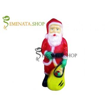 Светеща фигурка на Дядо Коледа с UV стабилизирана пластмаса - модел S