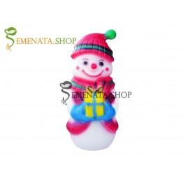 Светеща фигура на Снежен човек за открито и закрито с UV защита - Еми