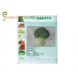 Качествени сортови семена на броколи Партенон F1 (Parthenon F1)