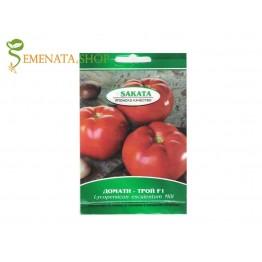 Семена на домати Трой F1 (Troy F1) - безколов домат за високи температури