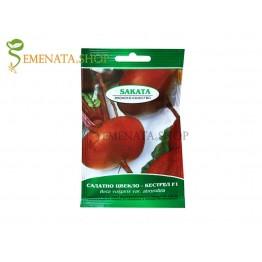Семена на салатно цвекло Кестрел F1 - много сочни и вкусни с изравнен плод