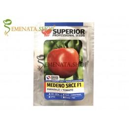Семена на домати Медено сърце F1 - вкусен сръбски сорт от Superior