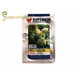 Семена на пипер Бели Калвил (Beli Kalvil) - Супер месеста домат - чушка