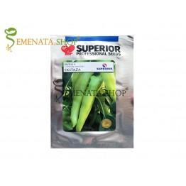 Семена на супер ранен пипер Екстаза - страхотен вкус и тънка ципа