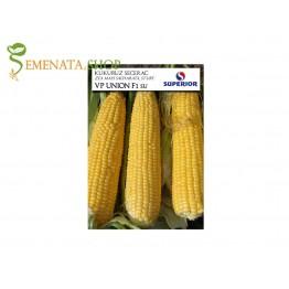 Семена на супер сладка царевица Унион F1 VPTC - сръбски сорт