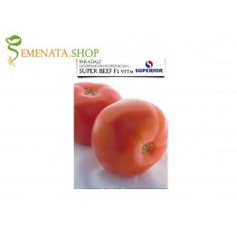 Семена на сръбски домати Супер Бийф F1 - с уникален баланс м/у сладък вкус и киселост