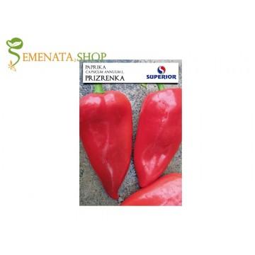 Семена на пипер Призренка - уникална сръбска тип куртовска капия