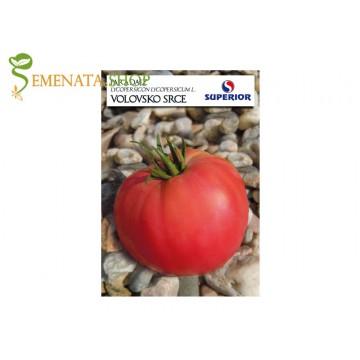 Семена на домати Воловско сърце (розово биволско сърце) - супер вкусни и месести с размер до 800 гр.