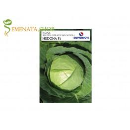 Семена на зеле Хедона F1 - средно ранен сорт от Superior (глава до 3 кг)