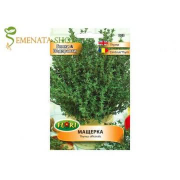 Семена на Мащерка (Thymus officinalis) за отглеждане в саксия и градина