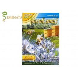 Фацелия (Phacelia tanacetifolia, Синя паричка) - медоносно растение