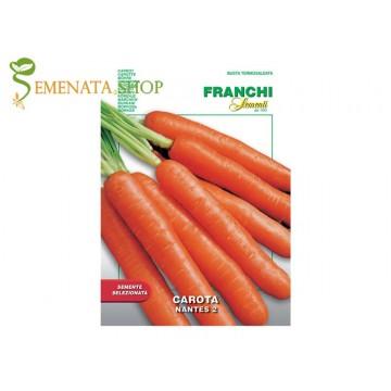 Семена на моркови Нантес 2