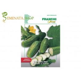 Семена на корнишони Малки от Париж - подходящи за бейби корнишон при ранно бране