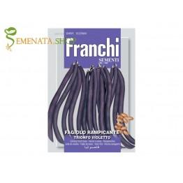 Семена на фасул увивен Виолетов триумф