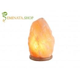 Хималайска солна лампа розова със силно пречистващо действие в радиус от 3 м (7 - 10 kg)