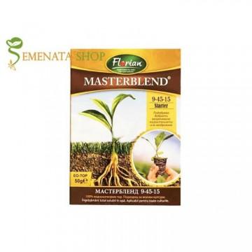 Фосфорен тор за цветя и зеленчуци Мастърбленд 9-45-15 Стартер - мощен старт за млади растения и разсад