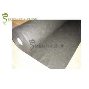 Нетъкан текстил за мулчиране - Агрол черен 50 гр. кв.м с UV защита