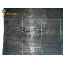 Професионално почвопокривно фолио с UV защита и висока плътност 100 гр.кв.м (Черно)