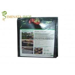 Хоби опаковка почвопокривно фолио с UV защита и висока плътност 100 гр.кв.м - 1 м/ 5 м