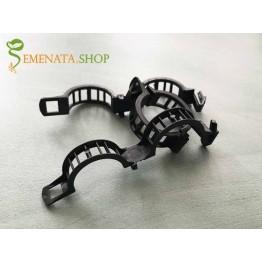 Професионален Черен клипс щипка за домати и поддържане на оранжерийни култури диаметър 23 мм