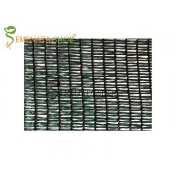 Засенчваща мрежа за ограда тераса и балкон 80 % с UV защита със специална триредова плетка