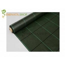 Зелено почвопокривно фолио с UV защита и висока плътност 100 гр.кв.м