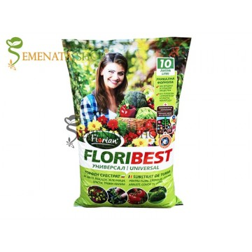 Торфен субстрат универсален за цветя, зеленчуци, подправки и разсади