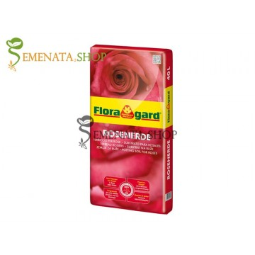 Специален субстрат за саксийни и градински рози - Floragard rosenerde почва 20 литра