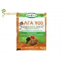 Натурален тор Алга 900 Про - 100% органичен за стимулиране на зеленчуци и плодове