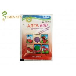 Натурален тор Алга 600 Про - 100% органичен за стимулиране на зеленчуци и плодове