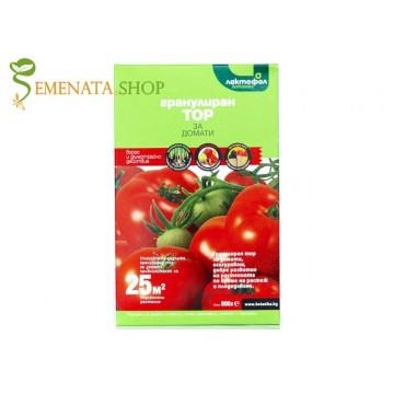 Специализиран тор за домати на гранули, подходящ за зеленчуци като краставици и пипер