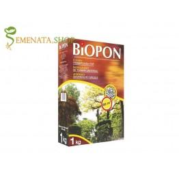 Есенен тор универсален 1 кг гранулиран за всякакви видове декоративни и културни растения