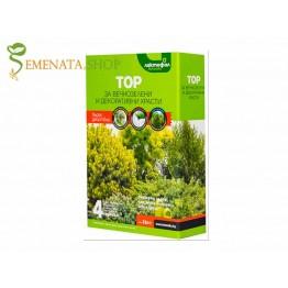 Качествен гранулиран тор за иглолистни дървета и храсти Лактофол 2кг