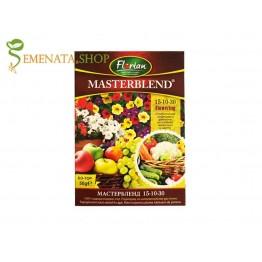 Тор Мастербленд 15-10-30 за хидропоника, листно и почвено торене с високо съдържание на калий