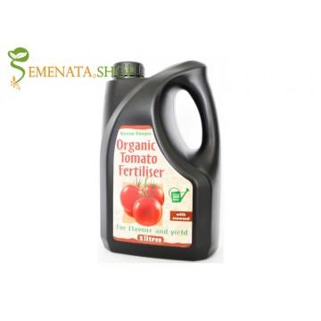 Качествен органичен тор за домати течен 2 литра 100% натурален с уникален ефект при всякакви зеленчуци