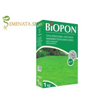 Ефективен тор за трева против мъх - 1 кг за силен и наситен зелен цвят (до 33 кв.м)