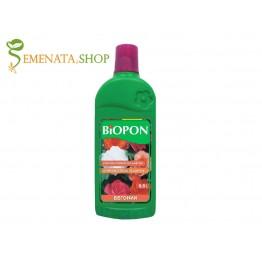 Мощен тор течен за бегонии 0.5л на фирма Биопон - за обилен и продължителен цъфтеж