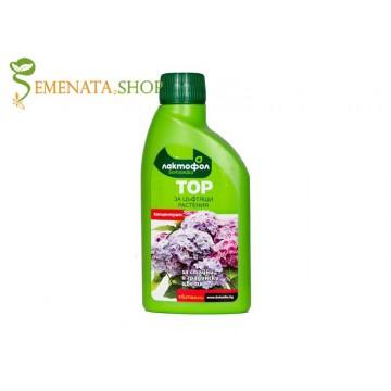 Тор за цъфтящи растения 250 мл - за по-обилен и продължителен цъфтеж