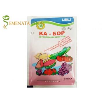 Листни торове за овошки и лозя Ка Бор на Лейли за по-бързо узряване и по-дълго съхранение на плода (органичноминерален)