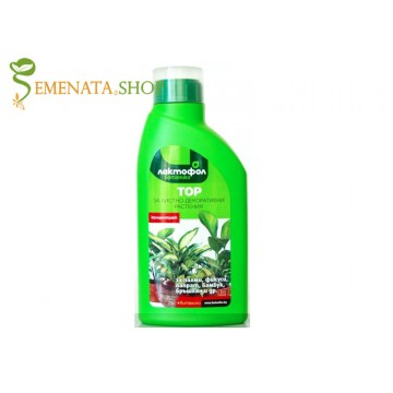 Ефективен тор за листнодекоративни стайни растения - за по-зелени и свежи листа