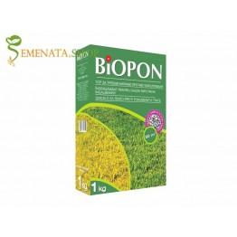 Мощен тор против пожълтяване на тревата 1 кг (за всякакви видове райграс и жълта трева) - за до 50 кв.м