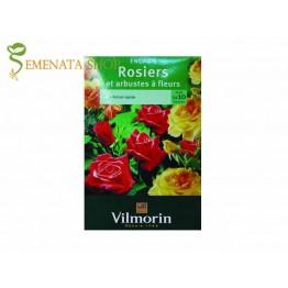 Тор за рози гранулиран за обилен цъфтеж и едър цвят 800 гр. от Вилморин