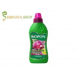 Течна тор за орхидеи 0,5 л от Биопон - отличен ефект при цъфтеж и фаза на растеж