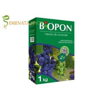 Гранулирани Биопон торове за лозя, асми и всички сортове грозде