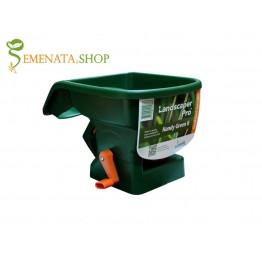 Ръчна тороразпръсквачка (торачка) за прецизно торене на тревни площи и засяване на райграс