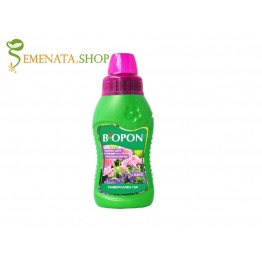 Универсален течен тор Биопон за подхранване на всякакви цветя и растения